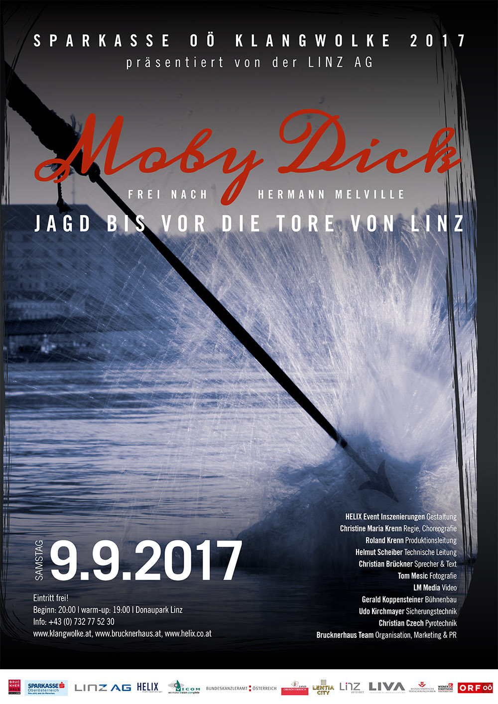 Klangwolke 09.09.2017 Moby Dick